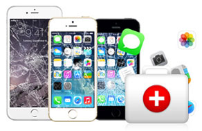 FoneLab will rescue your data from your iPhone