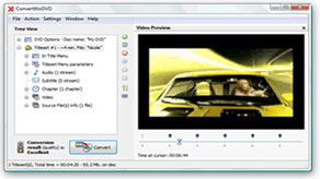 ConvertXtoDVD software